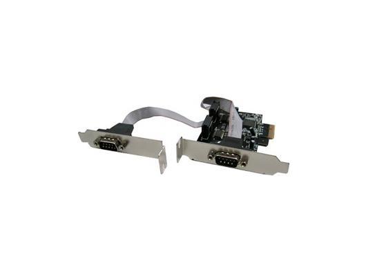Контроллер PCI-E Orient ORIENT XWT-PE2SLP 2xCOM OEM контроллер pci e 2 com купить минск