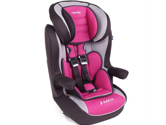 Купить Автокресло детское Nania Imax SP LX agora framboise черно-розовый
