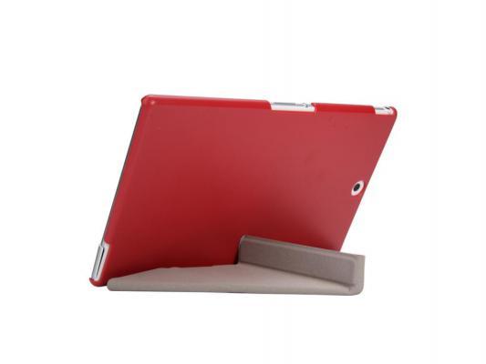 """купить Чехол IT BAGGAGE для планшета Sony Xperia TM Tablet Z3 Compact 8"""" пластик искусственная кожа красный ITSYZ301-3 недорого"""
