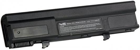 Аккумулятор для ноутбука Dell Dell XPS M1210 Series. 4400мАч 11.1V TopON TOP-M1210 аккумулятор для ноутбука hp compaq hstnn lb12 hstnn ib12 hstnn c02c hstnn ub12 hstnn ib27 nc4200 nc4400 tc4200 6cell tc4400 hstnn ib12