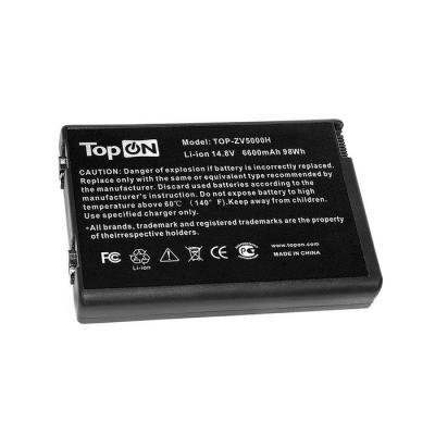 Аккумуляторная батарея TopON TOP-ZV5000H 6600мАч для ноутбуков HP nx9100 nx9110 Pavilion ZX5000 ZV5000 Compaq Presario R3000 quying laptop lcd screen for hp compaq presario cq62 210sa right side video connector