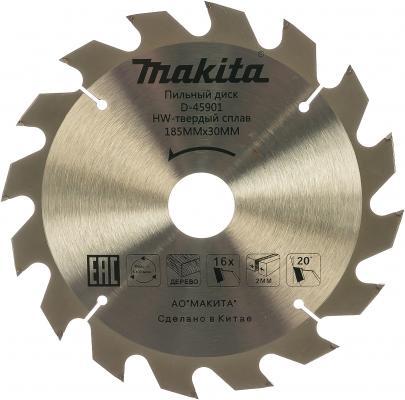 Диск пильный Makita Standard 185 ммx16 мм 16зуб D-45901