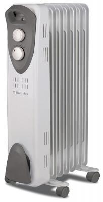 Масляный радиатор Electrolux EOH/M-3105 1000 Вт ручка для переноски белый серый масляный радиатор electrolux sport line eoh m 5221n 2200 вт термостат ручка для переноски