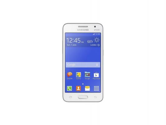 "Смартфон Samsung Galaxy Core 2 Duos белый 4.5"" 4 Гб GPS Wi-Fi SM-G355H"