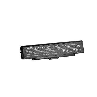 Аккумуляторная батарея TopON TOP-BPS2 5200мАч для ноутбуков Sony VGN-FE VGN-FJ VGN-FS VGN-FT VGN-S VGN-AR VGN-SZ