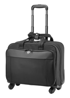 Сумка для ноутбука 17.3 HP Business 4wheel Roller Case синтетика черный H5M93AA