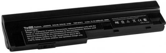 Аккумулятор для ноутбука Lenovo IdeaPad S10-3, S100, S110, S205, U160, U165 Series. 4400мАч 11.1V TopON TOP-S10-3 аккумулятор 4parts lpb s10 для ibm lenovo ideapad s9e s10e s10 1 s12 series 11 1v 4400mah