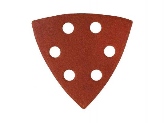Треугольник шлифовальный универсальный STAYER 6 отверстий Р60 93х93х93мм 5шт 35460-060