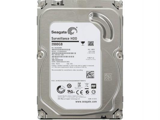 "Жесткий диск 3.5"" 2 Tb 5900rpm 64Mb cache Seagate Surveillance SATAIII ST2000VX003"