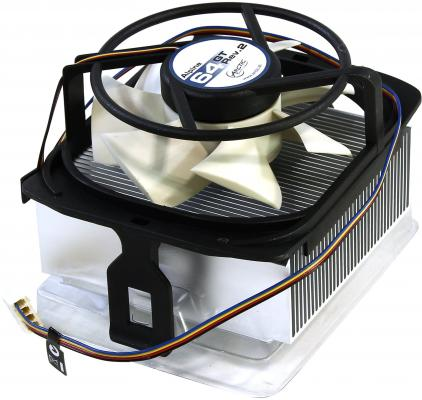 Кулер для процессора Arctic Cooling Alpine 64 GT Rev 2 Socket AM2/AM2+/AM3/754/939 UCACO-P1600-GBA01 вентилятор arctic cooling f12 pwm rev 2 afaco 120p2 gba01 120mm