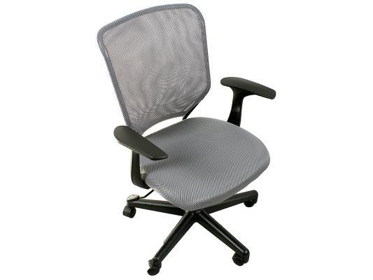 Кресло College H-8828F ткань офисное крестовина и подлокотники пластик серый кресло college h 8078f 5 ткань офисное крестовина хромированный металл подлокотники пластик коричневый