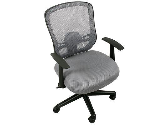 Кресло College HLC-0420-1C-1 ткань офисное крестовина и подлокотники пластик серый