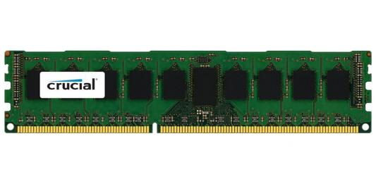 Оперативная память 4Gb (1x4Gb) PC3-14900 1866MHz DDR3 DIMM ECC CL13 Crucial CT51272BA186DJ ip телефон polycom vvx 600 2200 44600 114