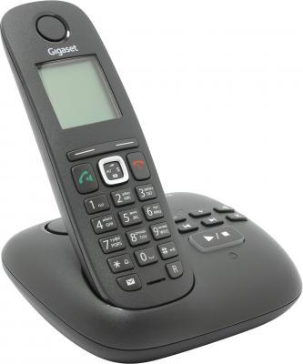 Фото Радиотелефон DECT Gigaset A540A черный автоответчик радиотелефон dect gigaset e630h черный