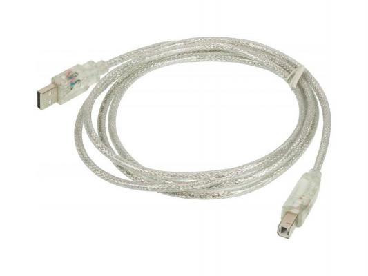 Кабель USB 2.0 AM-BM Ningbo 1.8м со светящимися контактами кабель usb2 0 ningbo usb a m usb b m 1 8м [usb2 0 am bm]