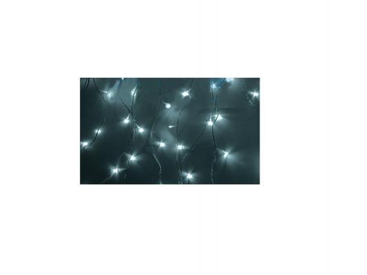 Гирлянда Светодиодный Дождь 235-035 1.5х1.5м свечение с динамикой белый электробритва braun cruzer5 face z5 cruz5