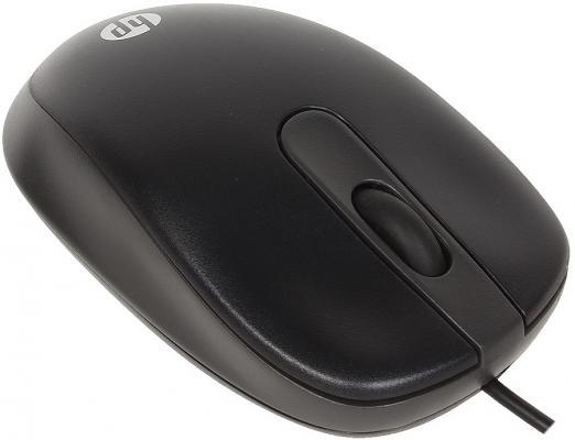 Купить Мышь проводная HP G1K28AA чёрный USB