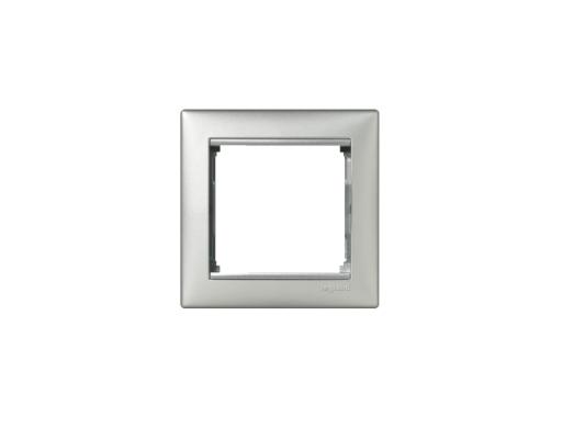 Рамка Legrand Valena одноместная алюминий 770151 от 123.ru