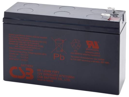 Батарея CSB HR1224 W F2/F1 12V/5.5AH