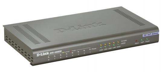 ���� VoIP D-Link DVG-5008SG/A1A 8xFXS RJ-11 4xLAN 1xWAN 10/100Mbps SIP