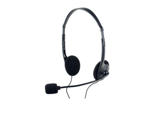 Гарнитура Perfeo CHAT черный PF-CHAT-BLK/SIL игровая гарнитура проводная perfeo guard черный синий pf a4429