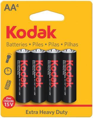 Батарейки Kodak Heavy Duty KAAHZ-4 AA 4 шт
