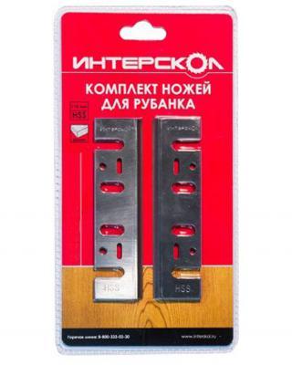 Комплект ножей для рубанка Интерскол твердосплавная сталь 82х6х1,2 2091908200120