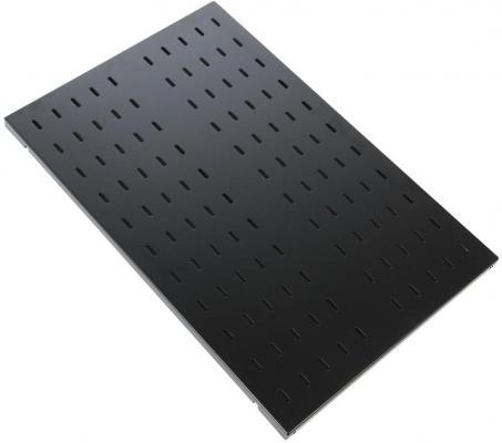 ЦМО Полка перфорированная грузоподъёмностью 100 кг глубина 1000 мм СВ-100У-9005 черный