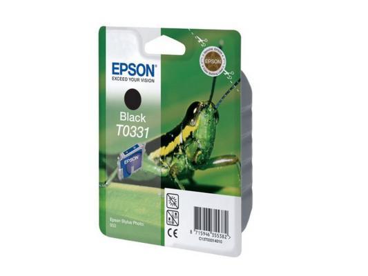 Картридж Epson C13T03314010 для Epson StPh 950 черный