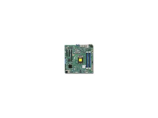 Мат. плата для ПК Supermicro MBD-X10SLM-F-B Socket 1150 C224 4xDDR3 1xPCI-E 4x 2xPCI-E 8x 2xSATA II 4xSATAIII mATX OEM