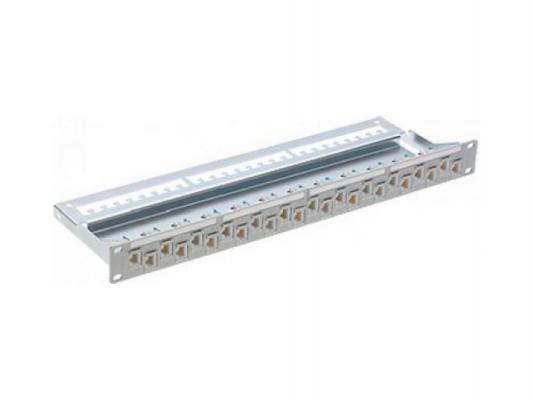 Патч панель R&M R305118 24 порта категории 5E 19'' 1U серый