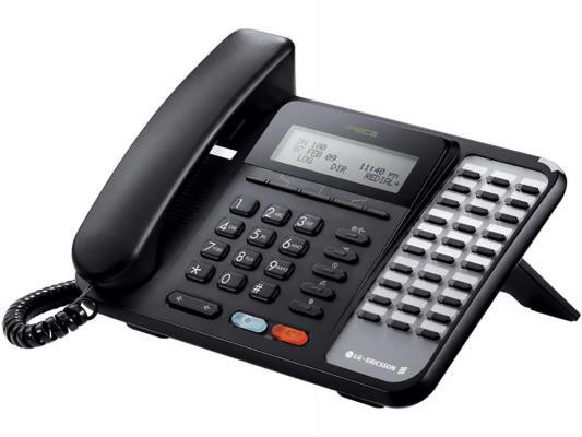 Системный телефон LG-Ericsson LDP-9030D.STGBK черный от 123.ru