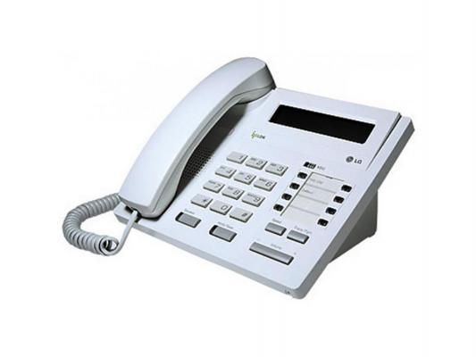 Системный телефон LG-Ericsson LDP-7008D.STG серый от 123.ru