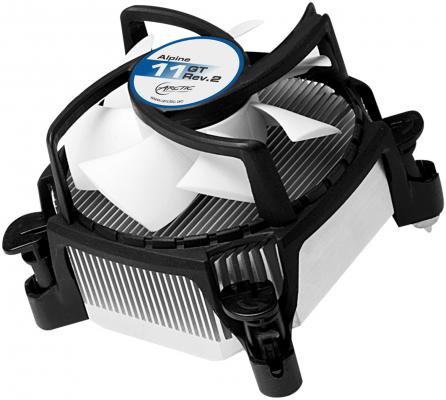 Кулер для процессора Arctic Cooling Alpine 11 GT Rev2 Socket 1156 1155 775 кулер для процессора arctic cooling alpine 64 pro socket am2 am2 ucaco a64d2 gba01