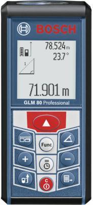 Дальномер Bosch GLM 80 80 м 601072300 дальномер bosch plr 50 c 50 м 603672220