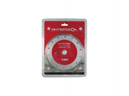 Отрезной диск Интерскол 180x22.2 по бетону алмазный Турбо повышенной производительности 2073918000000