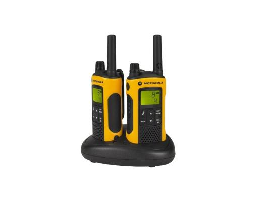Радиостанция Motorola TLKR-T80EXT Комплект из двух радиостанций MT125 радиостанция motorola tlkr t41