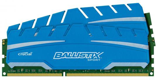 Оперативная память 16Gb (2x8Gb) PC3-14900 1866MHz DDR3 DIMM Crucial BLS2C8G3D18ADS3CEU Retail