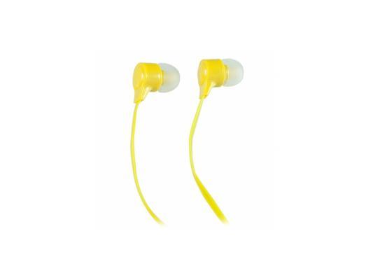 Наушники Perfeo BASE желтый PF-BAS-YLW наушники perfeo base черный pf bas blk