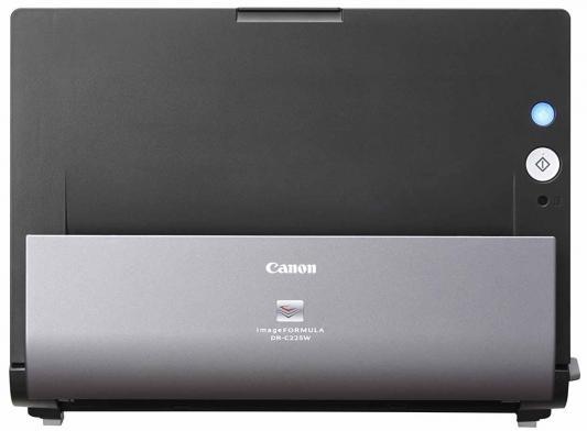 Сканер Canon DR-C225 протяжный CIS A4 600x600dpi 25стр/мин USB 9706B003 черный
