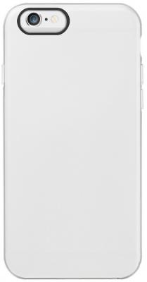 Чехол Ozaki O!coat Shockase для iPhone 6 белый OC566WH аксессуар чехол бампер ozaki o coat shockband для iphone 6 green oc567ws