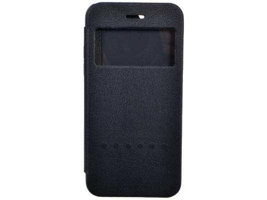 Чехол-книжка Ozaki O!coat Hel-ooo для iPhone 6 Plus чёрный OC588BK ozaki o coat 0 4 folio case чехол для iphone 6 plus pink