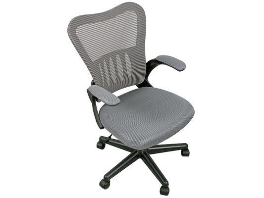 Кресло College HLC-0658F ткань серый