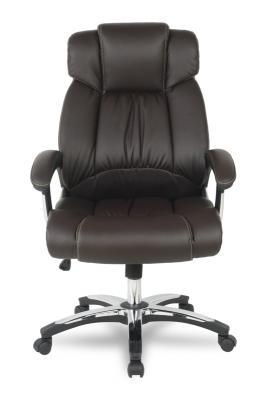 Кресло руководителя College H-8766L-1 экокожа коричневый