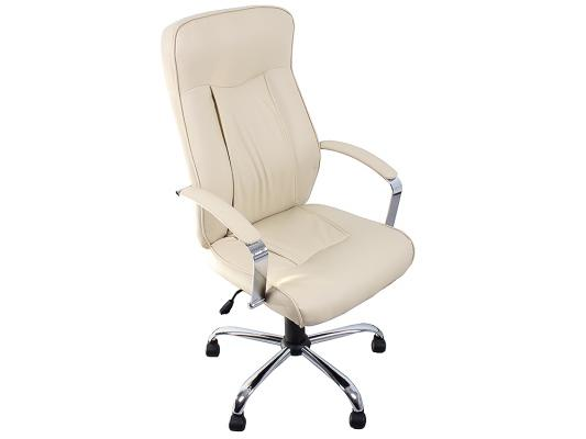 Кресло руководителя College H-9152L-1 экокожа бежевый кресло руководителя college clg 616 lxh brown
