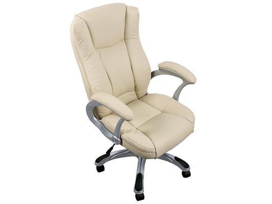 Кресло руководителя College HLC-0631-1 экокожа бежевый