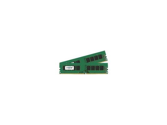 Оперативная память 8Gb (2x4Gb) PC4-17000 2133MHz DDR4 DIMM Crucial CT2K4G4DFS8213