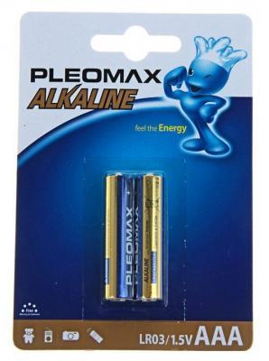 Батарейки Samsung Pleomax AAA 2 шт LR03-2BL