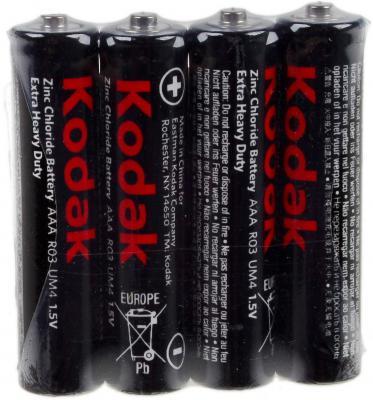 Батарейки Kodak R03 Extra Heavy Duty AAA 4 шт