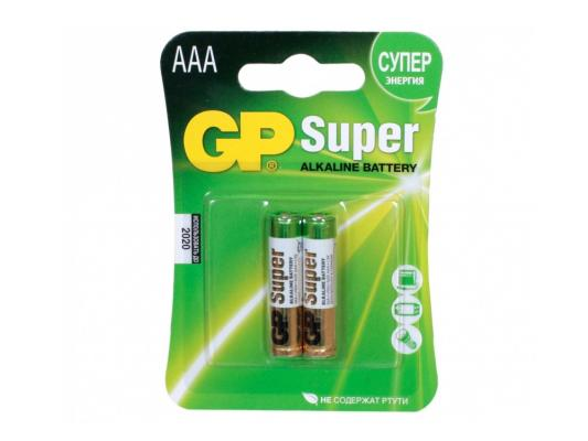 Батарейки GP 24A(CR2)-UE2(BC2) AAA 2 шт элемент питания gp 24a bc2